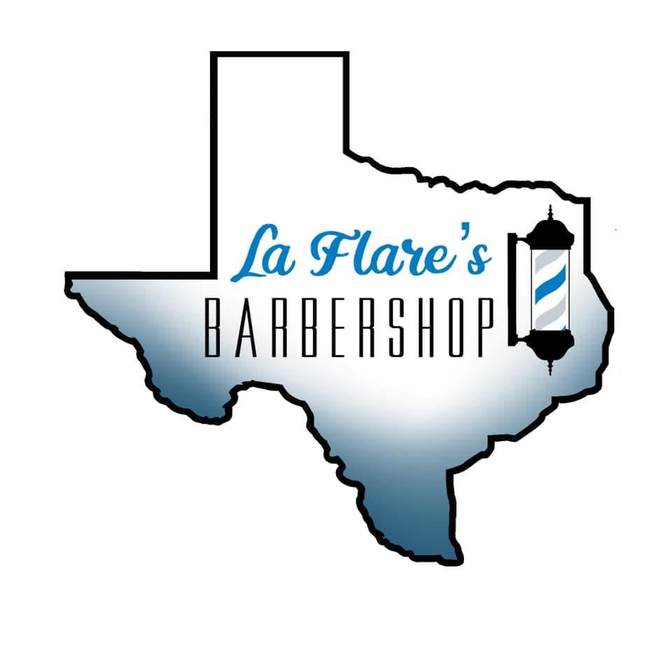 La Flare's Barber Shop logo